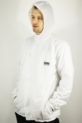 Jaqueta Windbreaker Grow Company White Reflet